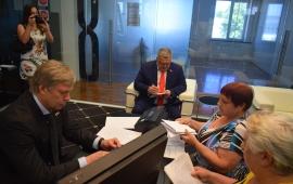 Алексей Русских и Александр Наумов посетили с рабочим визитом г.о. Ступино