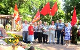 В Рузе прошёл День памяти и скорби