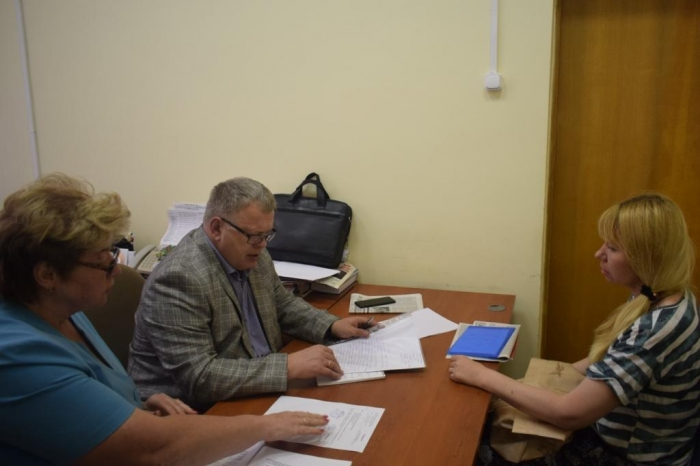 Александр Наумов провел прием граждан в г.о. Подольск