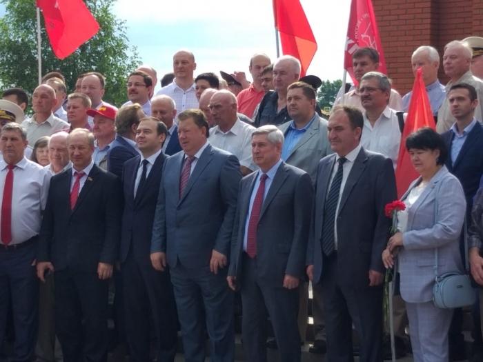 Клинские коммунисты приняли участие в мероприятии, посвященном Дню памяти и скорби