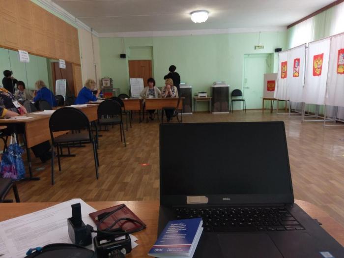 За два часа до окончания голосования в Серпухове проголосовало менее 15% избирателей