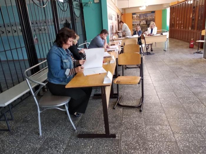 В Серпухове закончилось голосование