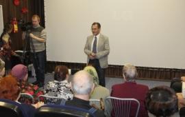 Торжественное открытие клуба-кинолектория в Можайске