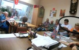 Рузские коммунисты обсудили протестные акции и антинародные законы