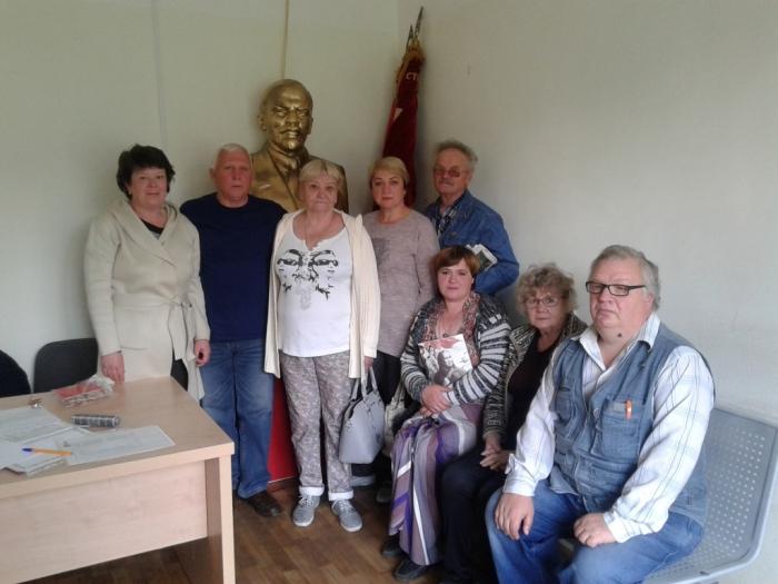 Рузский ГК КПРФ пополняет партийные ряды