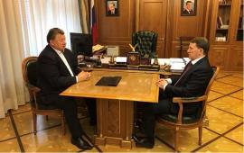 Владимир Кашин и зампредседателя российского Правительства Алексей Гордеев провели рабочую встречу