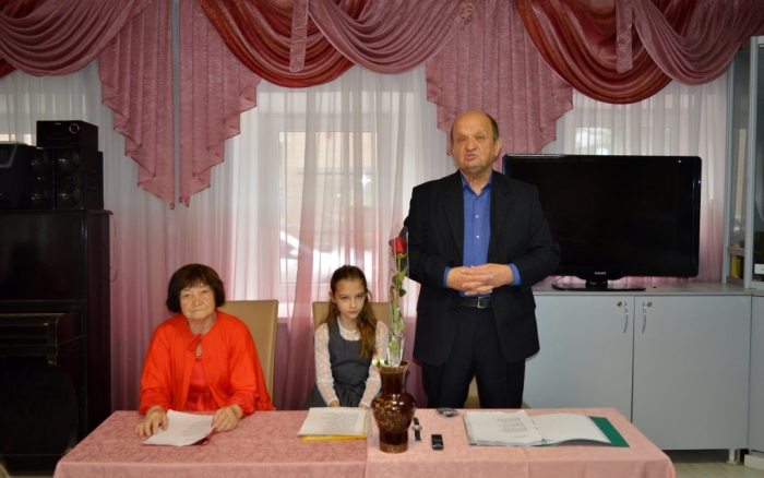 В Серпухове прошёл творческий вечер писателя А.Н. Егорова