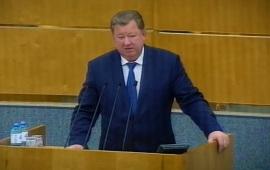 Выступление В.И. Кашина на Правительственном часе в Госдуме 25 сентября