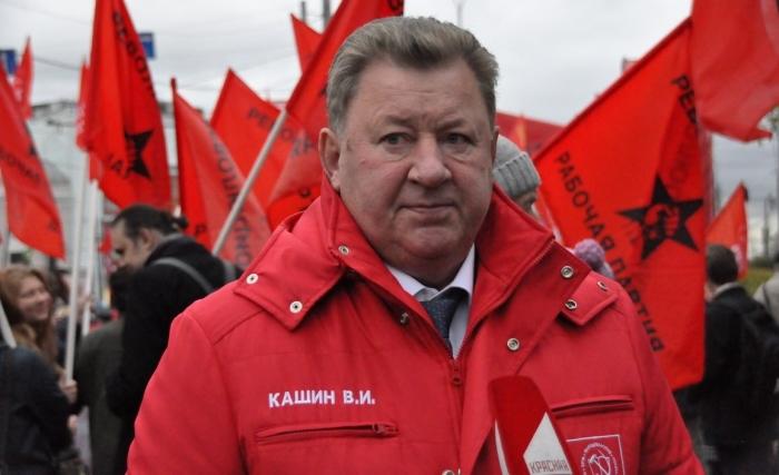 Владимир Кашин: Наши большие задачи напрямую связаны с памятью о защитниках Белого дома!