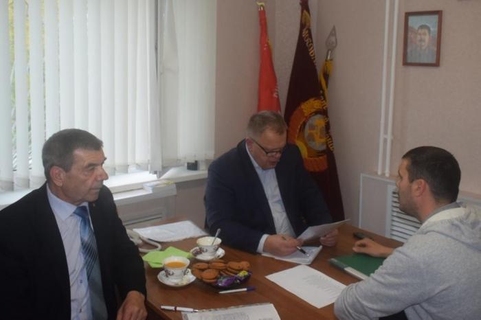 Александр Наумов провёл приём граждан в Домодедово
