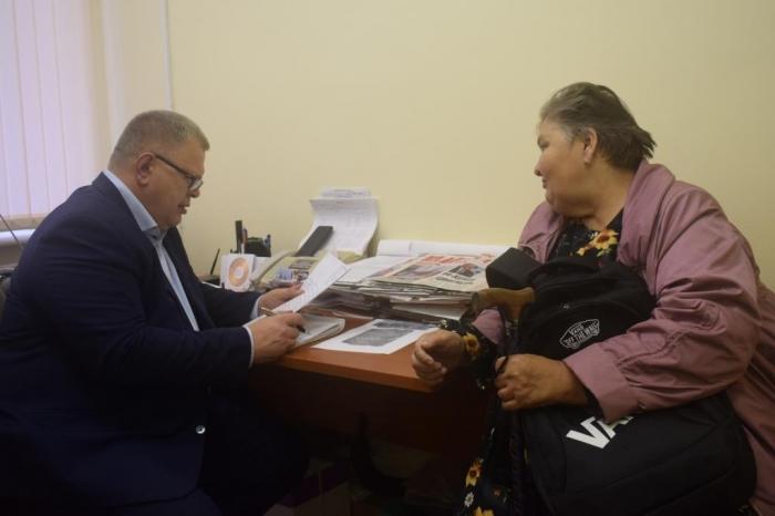 Александр Наумов провел приём граждан в г.о. Подольск