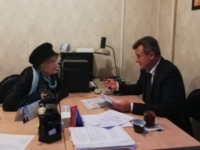 Депутат Мособлдумы Василий Мельников провёл очередной приём граждан во Фрязине