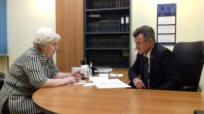Депутат Мособлдумы провел очередной прием граждан в Пушкино