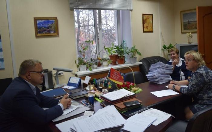 Александр Наумов провёл приём граждан в Ленинском городском округе