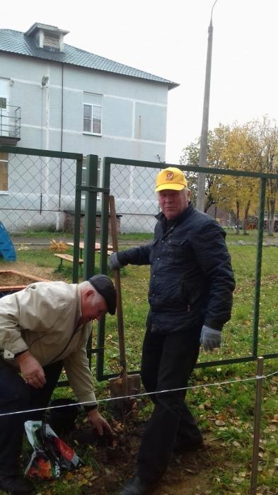 Акция «Посади сад Победы» в Талдоме