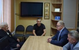 Депутат Александр Наумов посетил с рабочим визитом г.о. Протвино