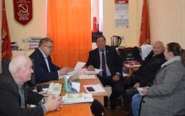 Александр Наумов провел прием граждан в г.о. Кашира