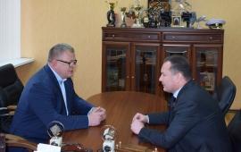 Александр Наумов посетил с рабочим визитом Каширу