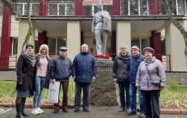 102 года со дня Великого Октября отметили в Протвино