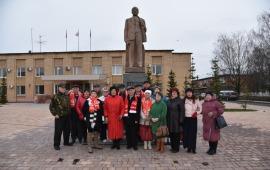 В Лотошино отметили 102-ю годовщину Великого Октября