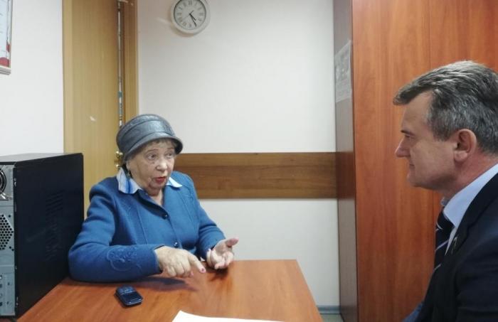 Василий Мельников провел прием жителей в Наукограде Черноголовка