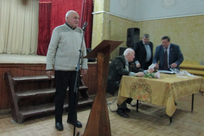В Кашире прошло собрание в честь Великого Октября
