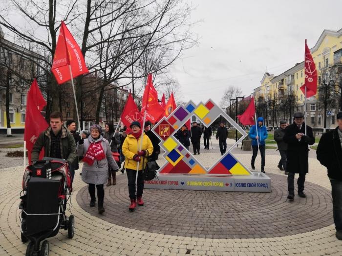 Праздничное шествие в Электростали