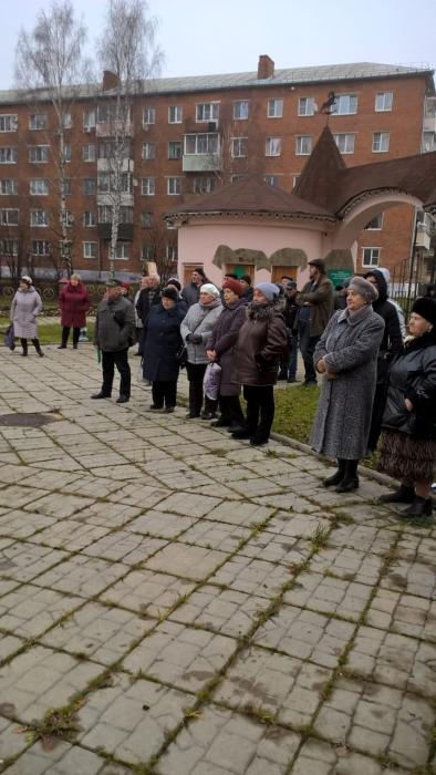 День Великого Октября отметили в Шаховской