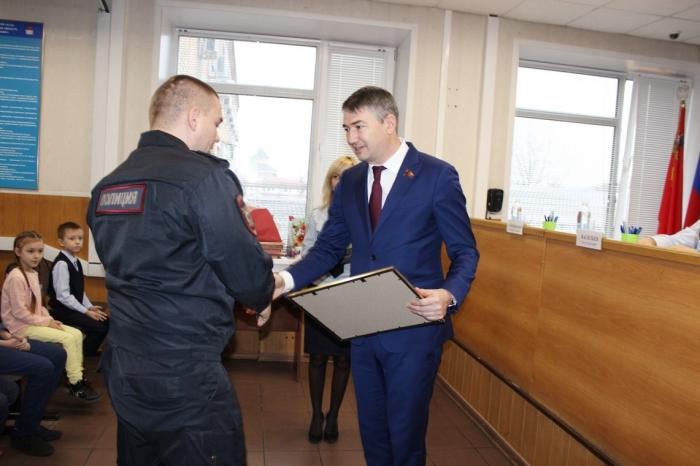 Дмитрий Кононенко поздравил с профессиональным праздником сотрудников органов внутренних дел Дмитровского городского округа