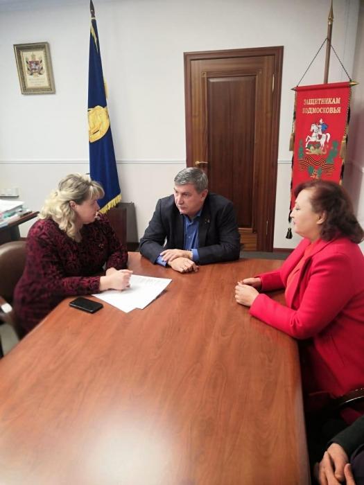Константин Черемисов посетил с рабочим визитом Лотошино