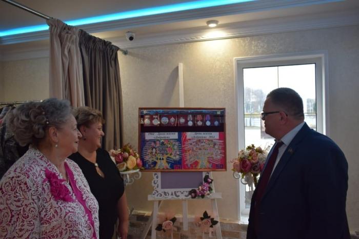 Александр Наумов поздравил Женсовет «Добродея» с Юбилеем