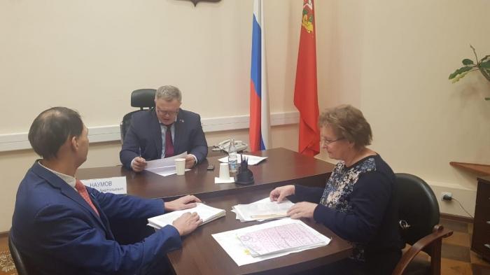 Депутат-коммунист Александр Наумов провёл приём граждан в Мособлдуме