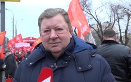 Владимир Кашин: «Мы завершим этот год декабрьским митингом за права трудового народа, за нашу Родину!»