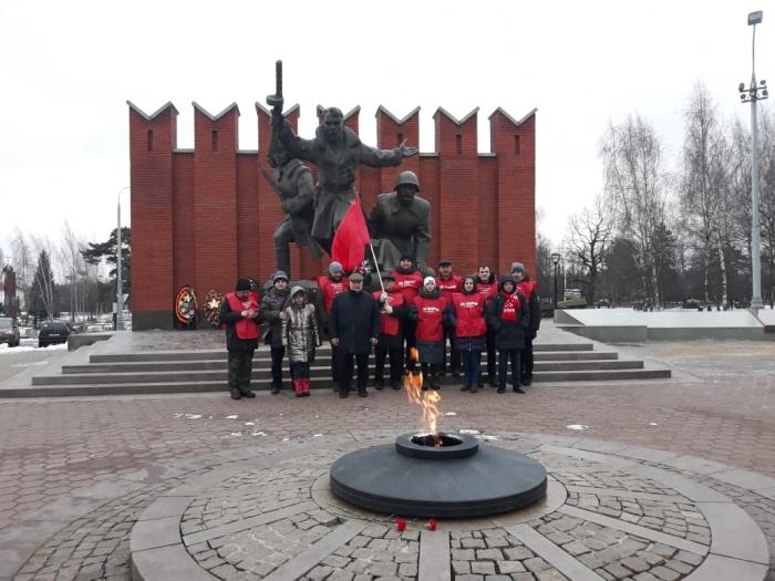 Красногорский ГК КПРФ принял участие в автопробеге, посвящённом 78-й годовщине Битвы под Москвой