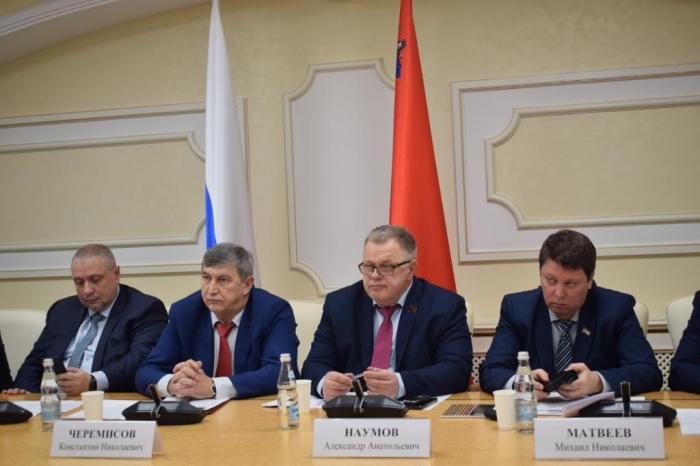 Александр Наумов выступил с докладом на научно-практической конференции в Мособлдуме