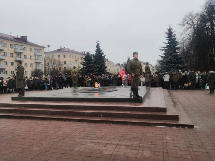 В Клину почтили память о подвиге Советских солдат