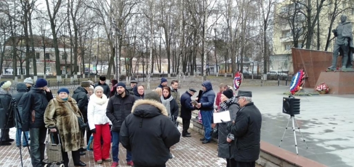 Встреча с избирателями в Звенигороде