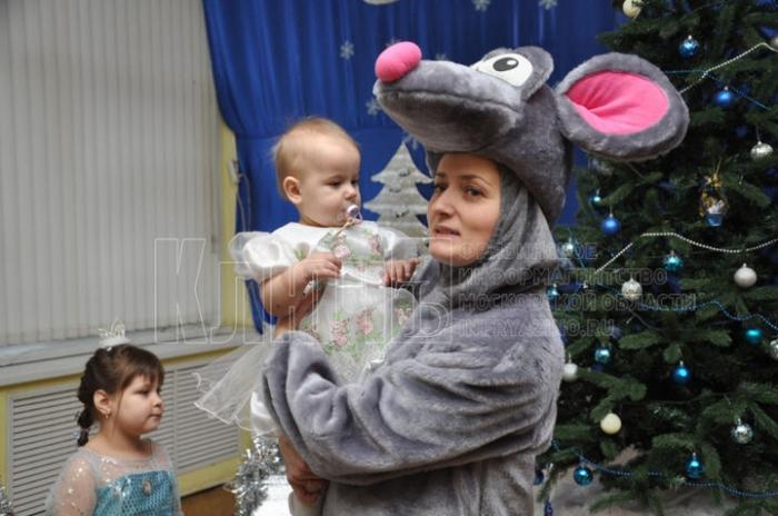 Новогодняя ёлка для самых маленьких прошла во Фрязине