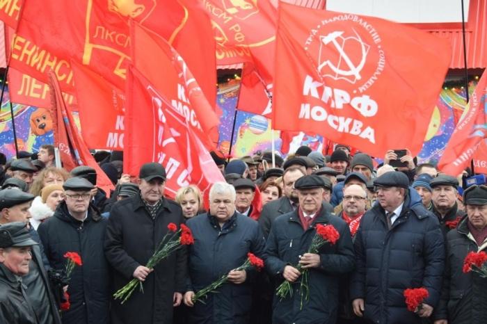 Г.А. Зюганов: Ленин – это ученый, революционер, выдающийся государственник и строитель нового мира