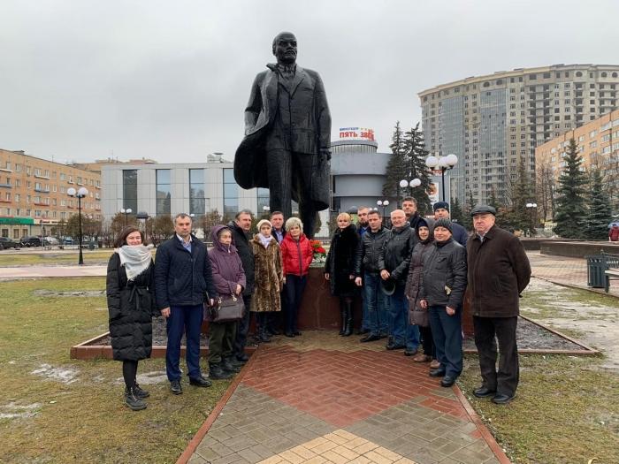 Щёлковские коммунисты почтили память героя революции!