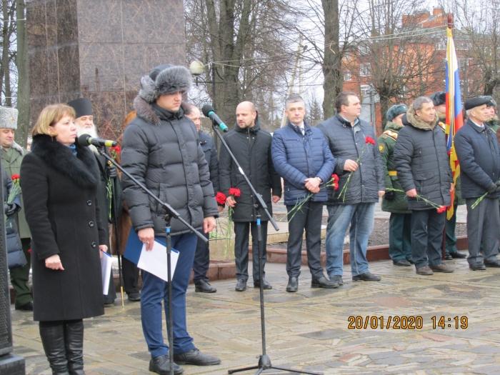 Можайск отмечает 78-ю годовщину освобождения от фашистской оккупации