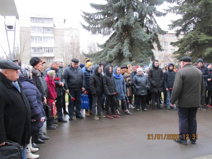 Союз советских офицеров, КПРФ и молодежь Можайска отмечает 98 лет Памяти В.И. Ленина