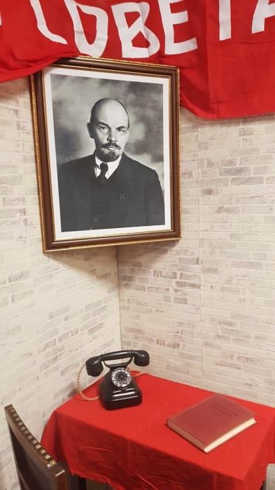 Александр Наумов в день памяти В.И. Ленина посетил Горки Ленинские