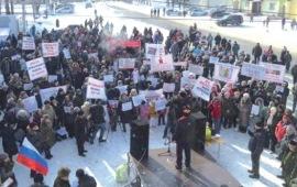 Мусорные протесты не утихают