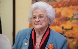 Участник Великой Отечественной войны Галина Павловна Брок-Бельцова отмечает 95-летие!