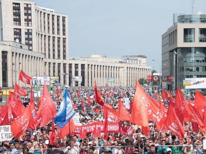 В.И. Кашин: Массовый протест - как веление времени и оружие трудового народа в борьбе за свои права
