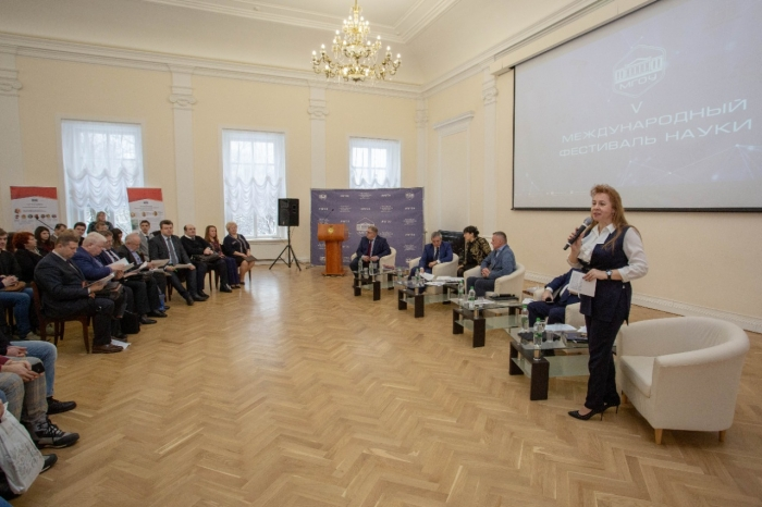Александр Наумов выступил в МГОУ на научном семинаре