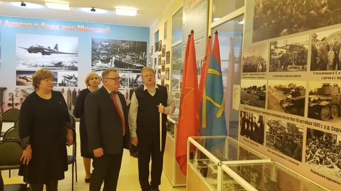 Александр Наумов: Необходимо помнить о подвиге Советского народа, отстоявшего свободу и независимость нашей Родины.