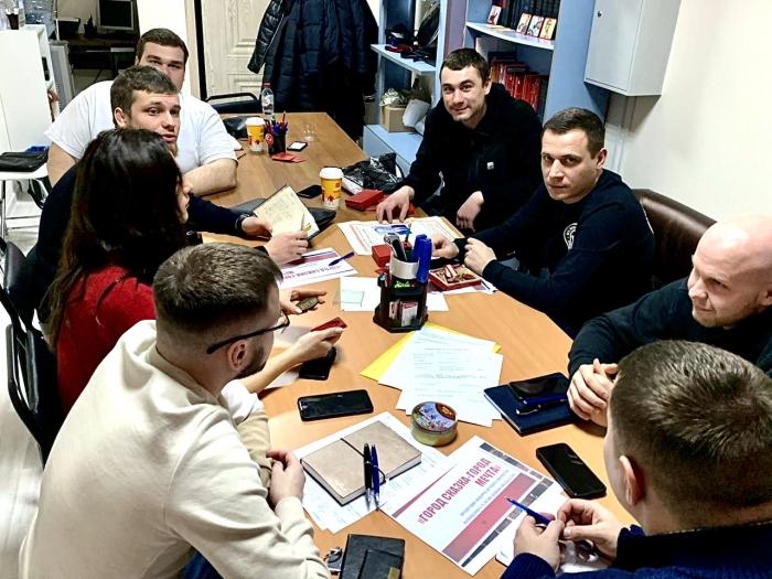 Воскресное собрание молодых коммунистов Балашихинского ГК КПРФ