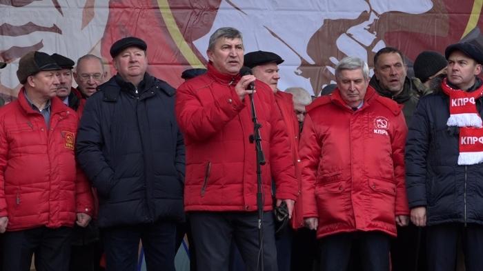 Выступление К.Н. Черемисова на митинге 23 февраля 2020 г.